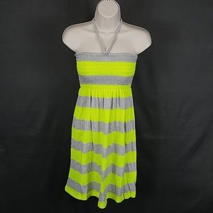 3 for $10- Medium lighlighter yellow dress